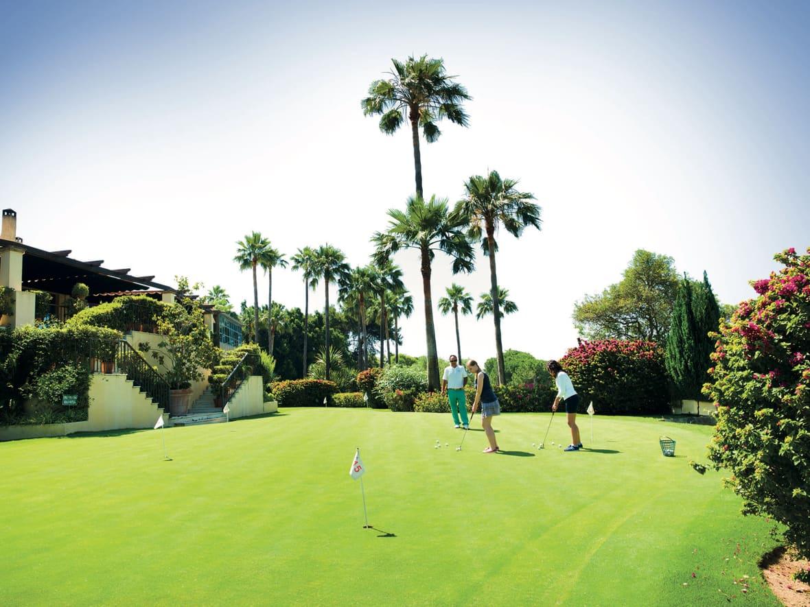 Costa del Sol Women Golfing